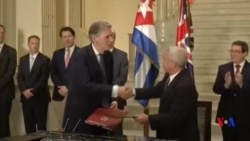 英國外交大臣訪問古巴