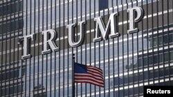 Salah satu gedung pencakar langit milik Presiden terpilih Amerika Serikat, Trump di Amerika (Foto: dok).