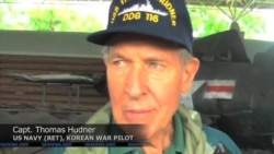 US Veterans Return From N. Korea After Search for Pilot's Remains