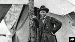 格兰特将军在冷港的指挥部外