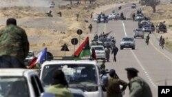 لیبیائی افواج نے اہم قصبہ کا کنٹرول باغیوں سے چھین لیا