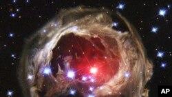 Stars in the Milky Way galaxy (NASA handout)