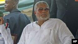 Rais wa zamani wa Ghana, Jerry John Rawlings