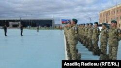 Əfqanıstana göndərilən Azərbaycan hərbçiləri