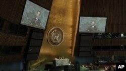 Заключительный день 67-й сессии Генассамблеи ООН. Нью-Йорк, 1 октября 2012 года