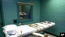 Salle d'exécution au Texas (AP Photo/Pat Sullivan)