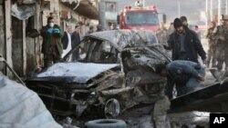 지난 10일 아프가니스탄 카불에서 탈레반 소행의 폭탄 테러 공격이 발생했다. (자료사진)