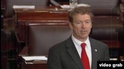 肯塔基州共和党籍联邦参议员兰德•保罗(视频截图)