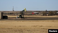 Нефтяной насос. Уэтворд, Северная Дакота