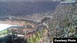 Stade y'i Harare muri Zimbabwe