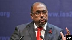 联合国艾滋病规划署主任米歇尔.西迪贝(资料照)
