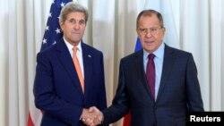 Джон Керри и Сергей Лавров. 26 августа 2016-го года.