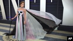 سلما بلیر در مهمانی «ونیتی فیر» اسکار - ۲۴ فوریه ۲۰۱۹