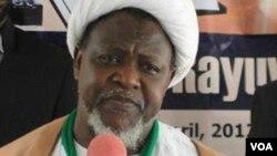 Sheikh Ibrahim El Zakzaky, Shugaban 'yan Shi'a.