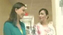 Maria Corina Machado de visita en Washington