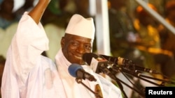 Presiden Gambia Yahya Jammeh didesak untuk mundur, setelah kalah dalam pilpres 1 Desember lalu (foto: dok).