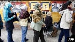 Cử tri Ai Cập đi bỏ phiếu tại Bắc Sinai, ngày 3/1/2012