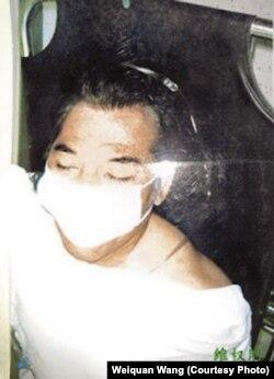 遇害的福州访民代表毛起平