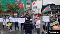 Torontoda Tofiq Yaqubluya dəstək aksiyası keçirilib