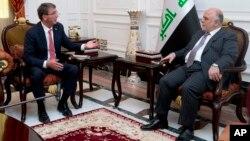 Jedan od ranijih susreta Eštona Kartera i Hajdera al-Abadija u Bagdadu