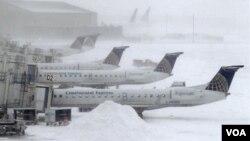 Las nevadas no sólo afectan el norte y centro del país sino también a algunos estados del sur.