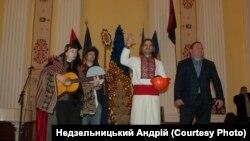 До Київради занесли Дідуха. ФОТО