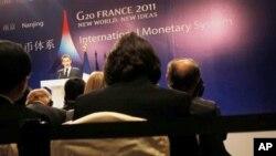 20國集團在南京討論匯率機製。