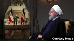 資料照: 伊朗總統魯哈尼。 2018年8月6日