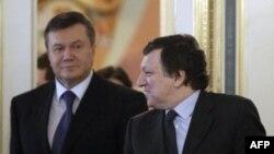 Жозе Мануэль Баррозу и Виктор Янукович
