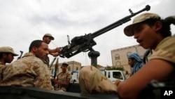 Антиурядові повстанці в Сані