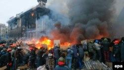 Майдан Незалежності. 19 лютого 2014 року