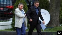 Андрей Пургин и Алексей Карякин, Минск 1 сентября 2014