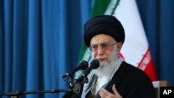 Eron oliy diniy rahnamosi Oyatulla Ali Xomeneiy, Mashhad, 2016-yil mart