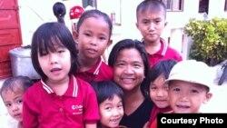 Cô Caroline Nguyễn Ticarro-Parker, nhà sáng lập kiêm giám đốc điều hành tổ chức Catalyst Foundation.