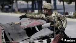 سربازان امریکایی و افغان از چند ماه به اینسو بر ضد داعش در ولایت ننگرهار میجنگند