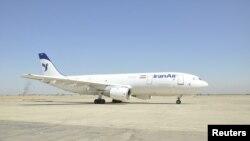 Bağdat hava alanında aranan bir İran kargo uçağı