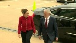 Fjala e Sekretarit Mattis në takimin me ministren Xhaçka