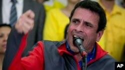 El excandidato presidencial venezolano Henrique Capriles se reunirá con el subsecretario de Estado de EE.UU. Tom Shannon.