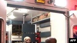 Пожарные – на выручку больным