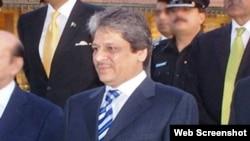 گورنر سندھ ڈاکٹر عشرت العباد کی فائل فوٹو