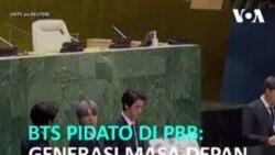 Pidato BTS di Hadapan PBB di New York