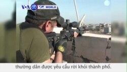 Quân đội Iraq đụng độ với những kẻ chủ chiến Nhà nước Hồi giáo (VOA60)