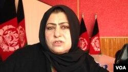 انیسه عمرانی، رئیس امور زنان ننگرهار