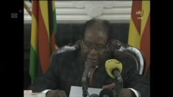 Excerpt of Mugabe Address to Nation