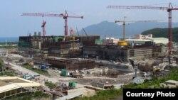 正在興建的龍門核能發電廠(Wikipedia)