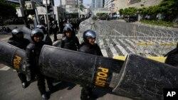 Lực lượng an ninh Indonesia được coi là thành công trong nỗ lực phá vỡ các mạng lưới chủ chiến
