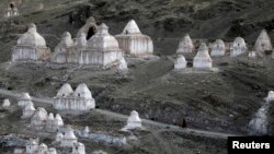 Kawasan Ladakh di pegunungan Himalaya, India dekat perbatasan dengan China (foto: dok). India menuduh pasukan China melanggar perbatasan, namun Beijing membantahnya.
