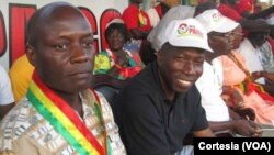 José Mário Vaz, Presidente, e Domingos Simões Pereira, primeiro-ministro da Guiné-Bissau