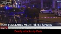 Deadly Attacks Rip Paris
