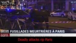 สื่อทั่วโลกเกาะติดเหตุการณ์ระเบิดกรุงปารีส